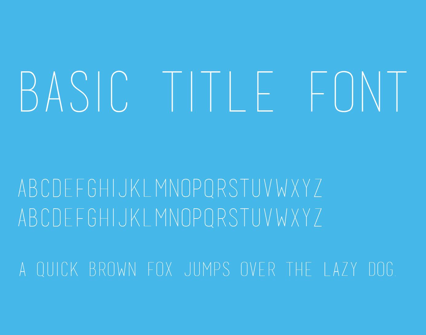 https://fontclarity.com/wp-content/uploads/2019/09/basic-title-font-download-0.png Free Download
