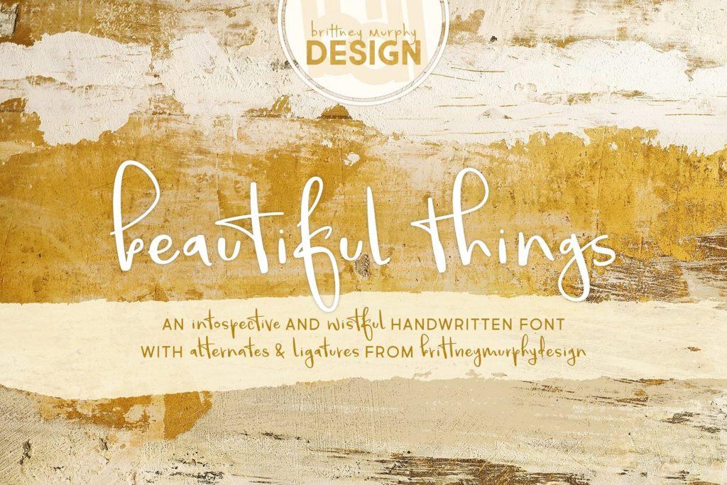 beautiful-things-handwritten-font-download-0.jpg download