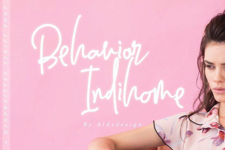 behavior-indihome-signature-font-download-0.jpg download