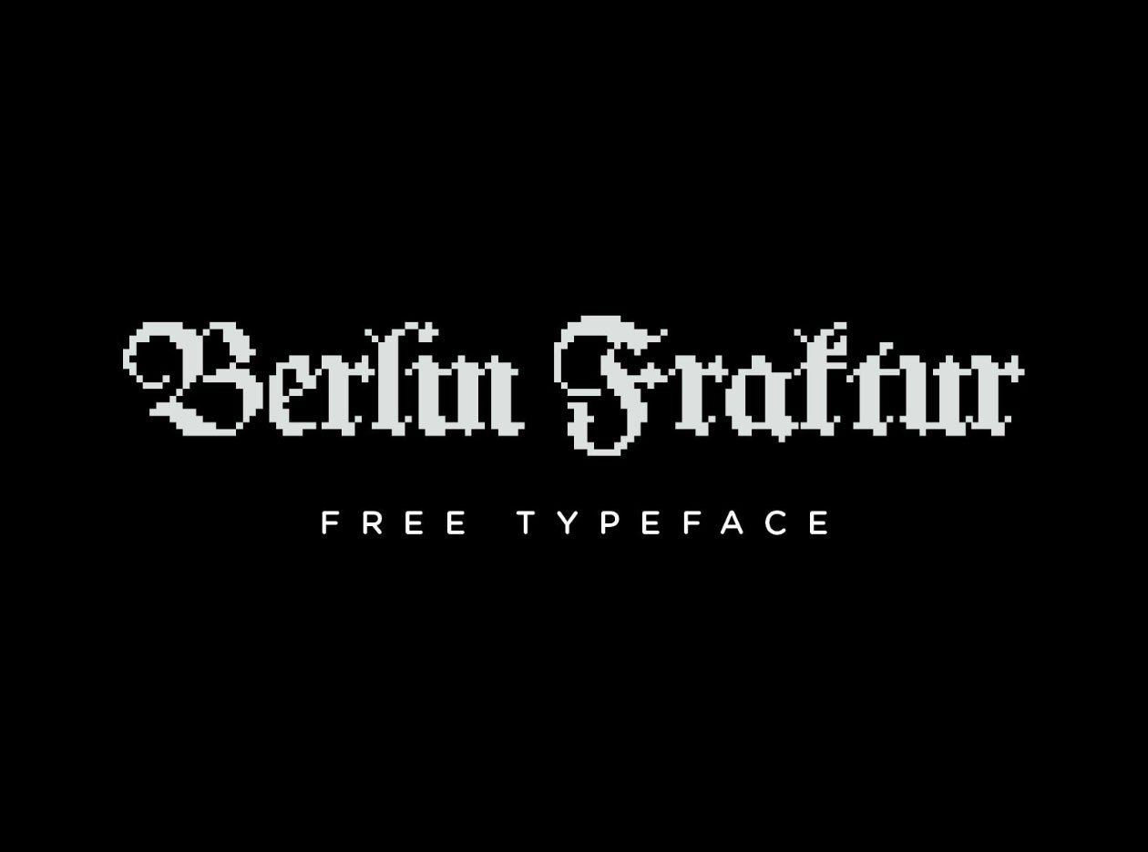 https://fontclarity.com/wp-content/uploads/2019/09/berlin-fraktur-pixel-typeface-download-0.jpg Free Download