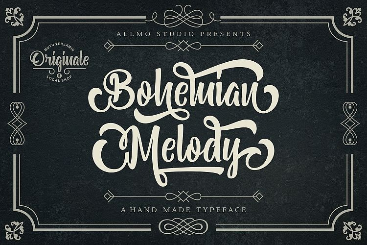 https://fontclarity.com/wp-content/uploads/2019/09/bohemian-melody-font-download-0.jpg Free Download