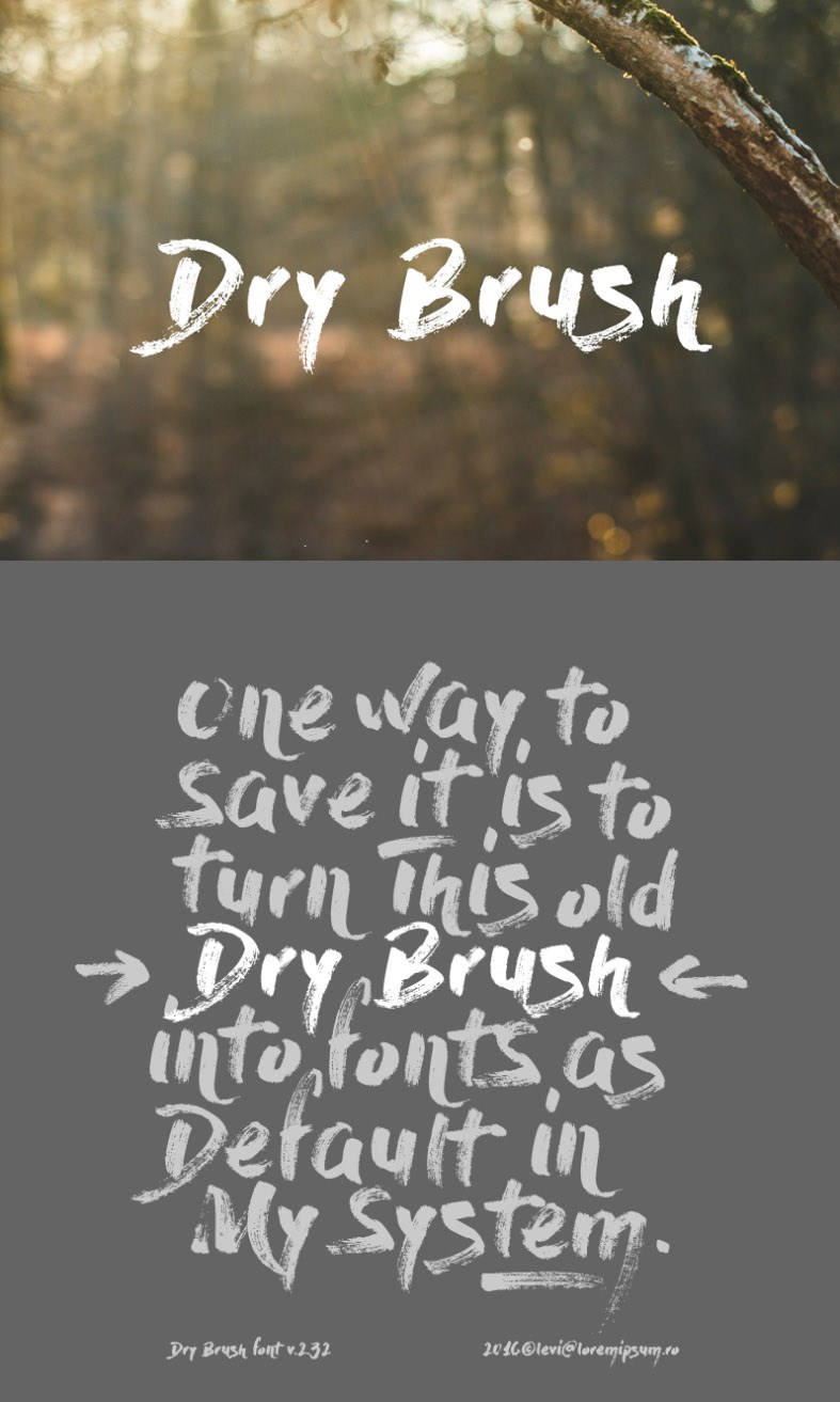 https://fontclarity.com/wp-content/uploads/2019/09/dry-brush-download-0.jpg Free Download