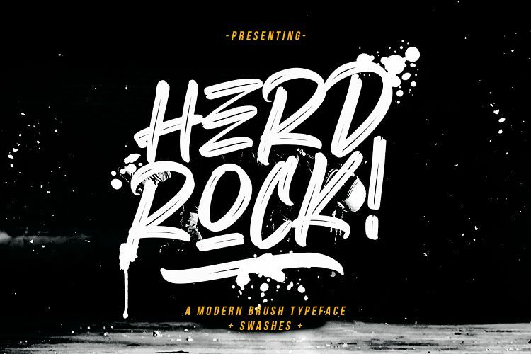 herdrock-brush-font-download-0.jpg download