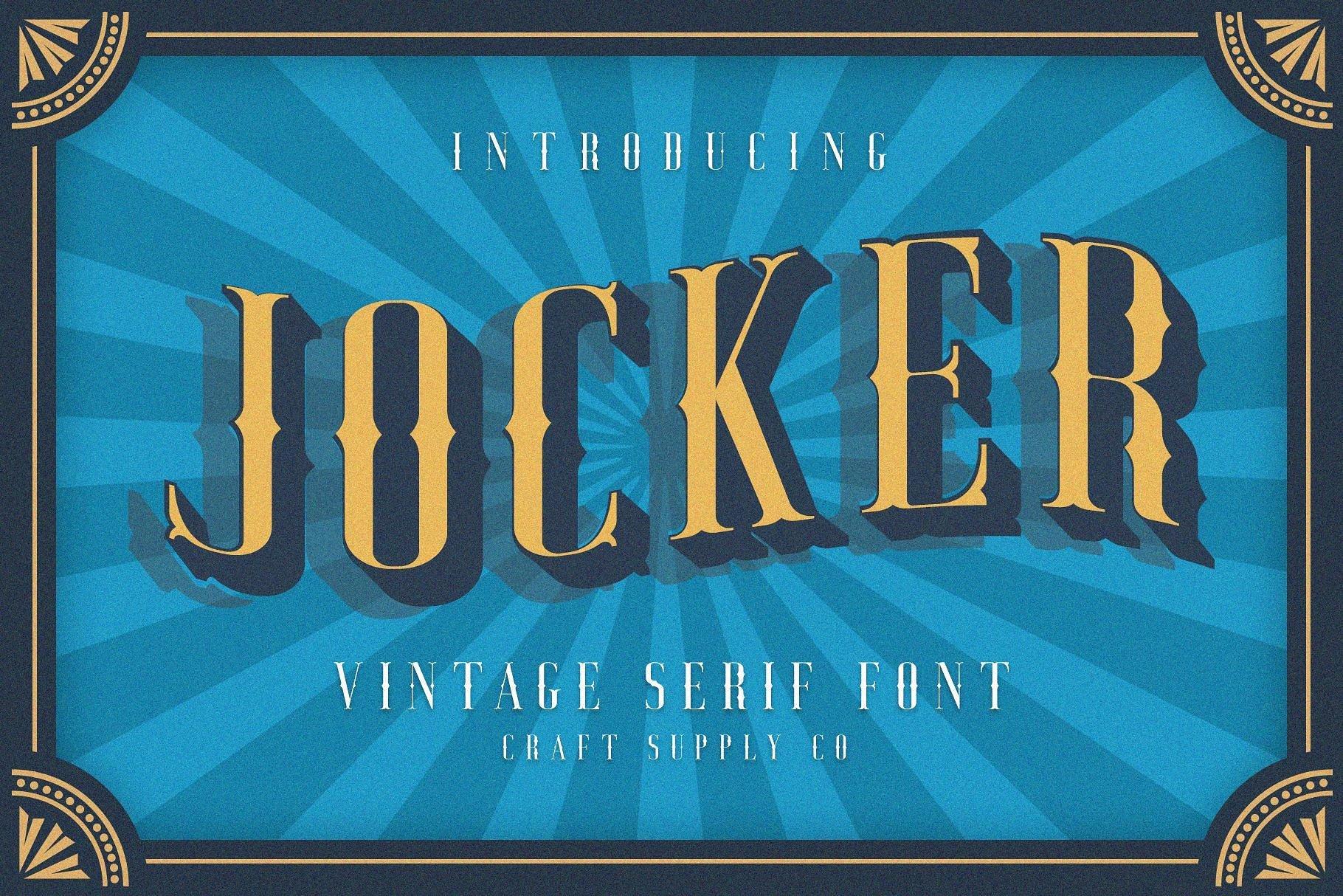 https://fontclarity.com/wp-content/uploads/2019/09/jocker-vintage-font-family-download-0.jpg Free Download