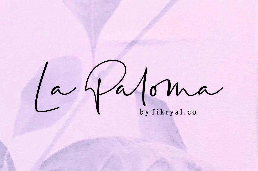 la-paloma-handwritten-font-download-0.jpg download