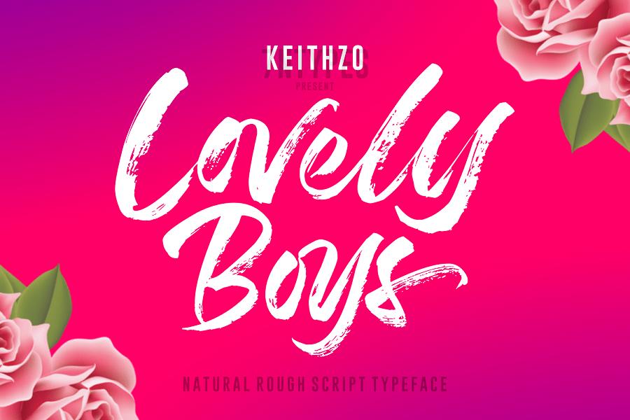 lovely-boys-brush-font-download-0.jpg download