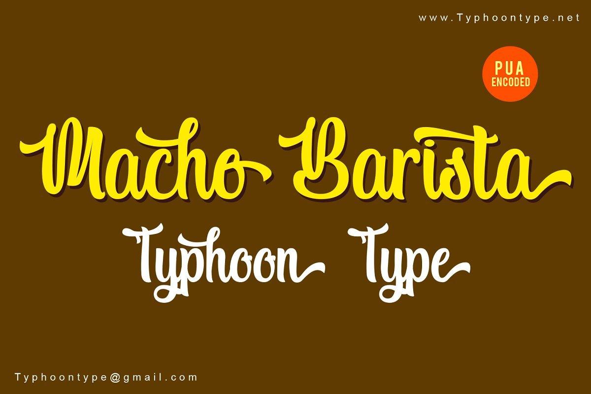 https://fontclarity.com/wp-content/uploads/2019/09/macho-barista-script-font-download-0.jpg Free Download