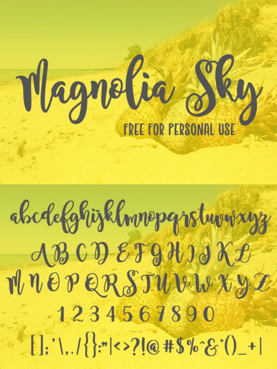 https://fontclarity.com/wp-content/uploads/2019/09/magnolia-sky-font-download-0.jpg Free Download