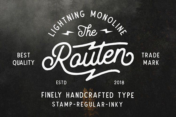 routen-lightning-monoline-font-download-0.jpg download