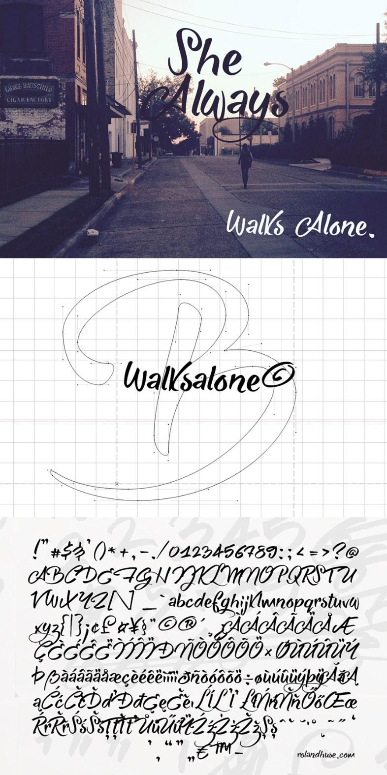 https://fontclarity.com/wp-content/uploads/2019/09/she-always-walks-alone-download-0.jpg Free Download