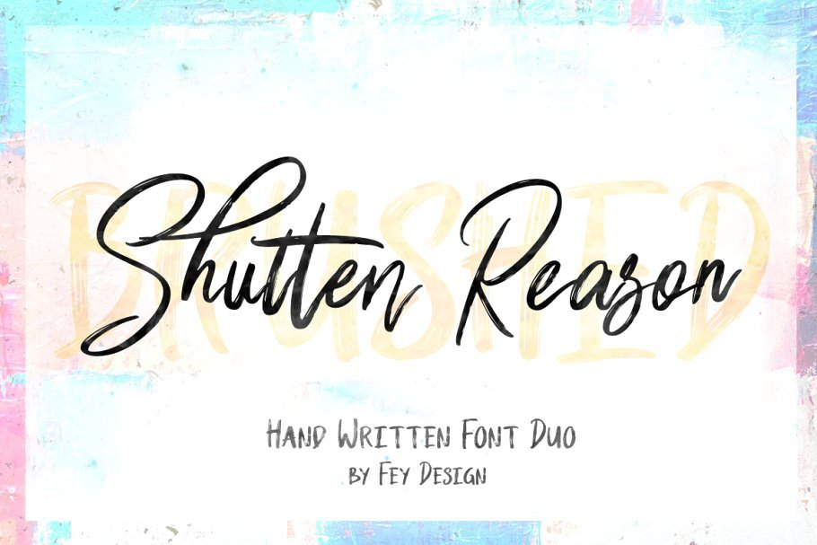 shutten-reason-font-duo-download-0.jpg download