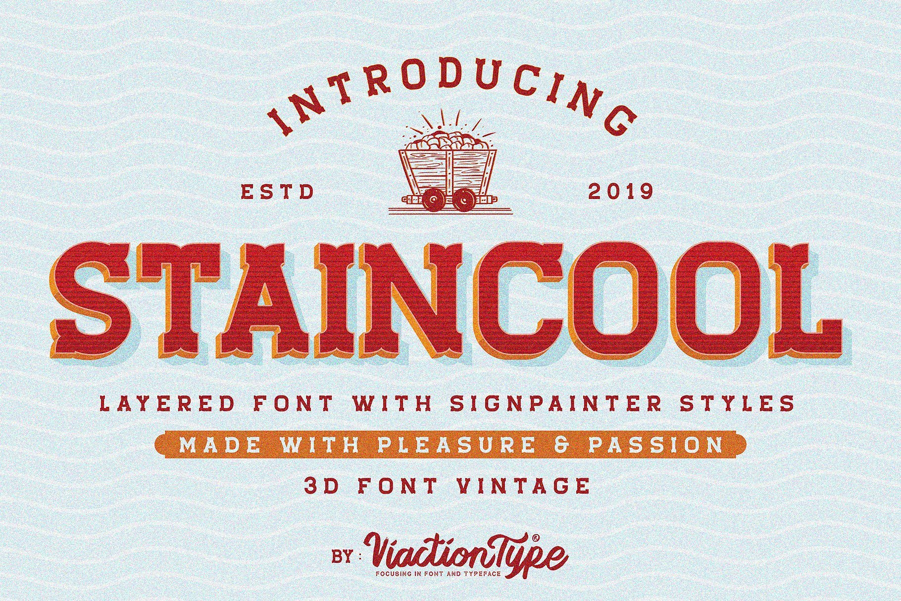 https://fontclarity.com/wp-content/uploads/2019/09/staincool-layered-font-download-0.jpg Free Download