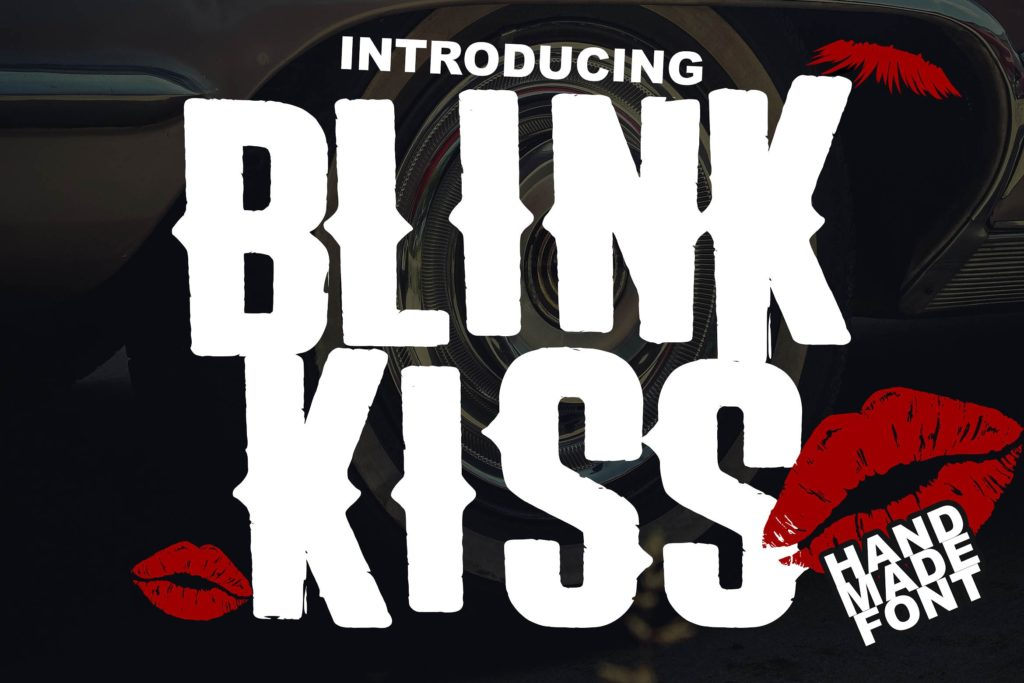 the-blink-kiss-logotype-font-download-0.jpg download