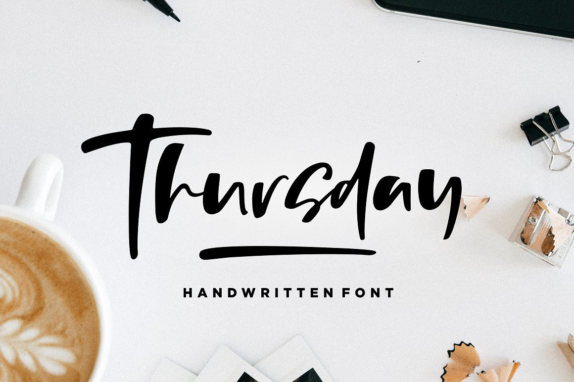 https://fontclarity.com/wp-content/uploads/2019/09/thursday-vibes-brush-font-download-0.jpg Free Download