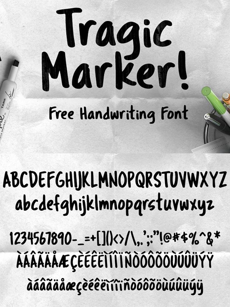 https://fontclarity.com/wp-content/uploads/2019/09/tragic-marker-font-download-0.jpg Free Download